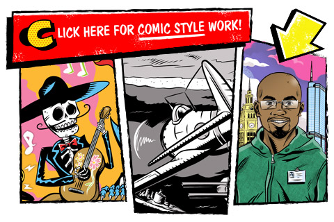 Click here for comic style work